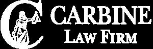 Carbine Law, LLC - White Logo
